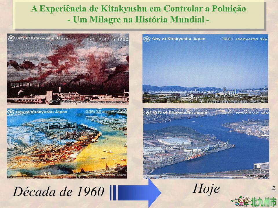 A Experiência de Kitakyushu em Controlar a Poluição - Um Milagre na História Mundial -