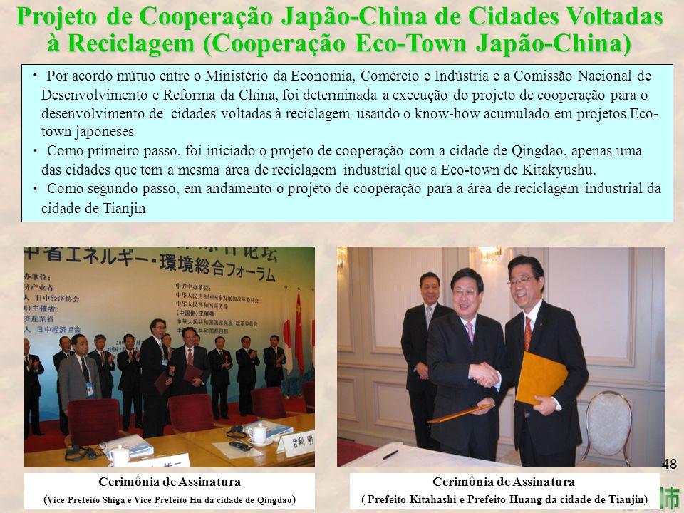 Projeto de Cooperação Japão-China de Cidades Voltadas à Reciclagem (Cooperação Eco-Town Japão-China)