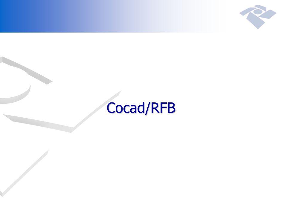 Cocad/RFB