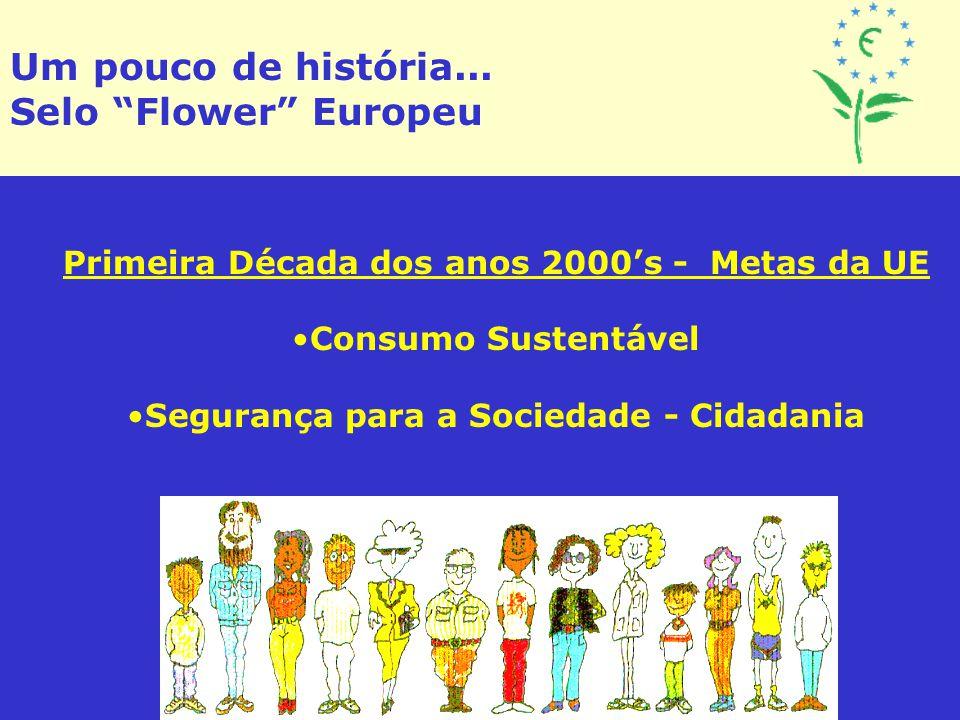 Um pouco de história... Selo Flower Europeu