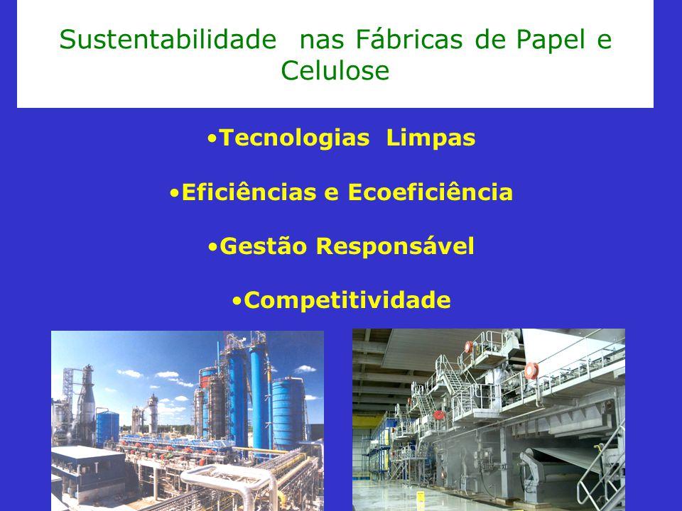 Sustentabilidade nas Fábricas de Papel e Celulose