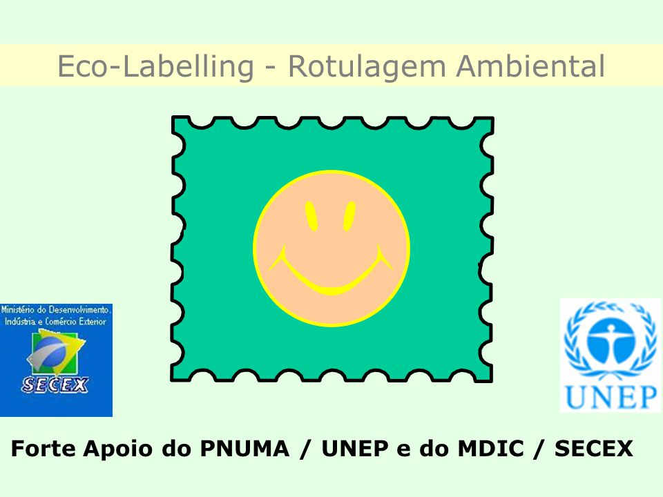 Eco-Labelling - Rotulagem Ambiental