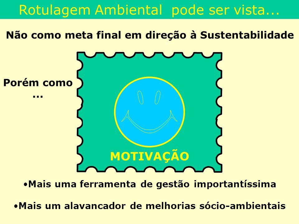 Rotulagem Ambiental pode ser vista...