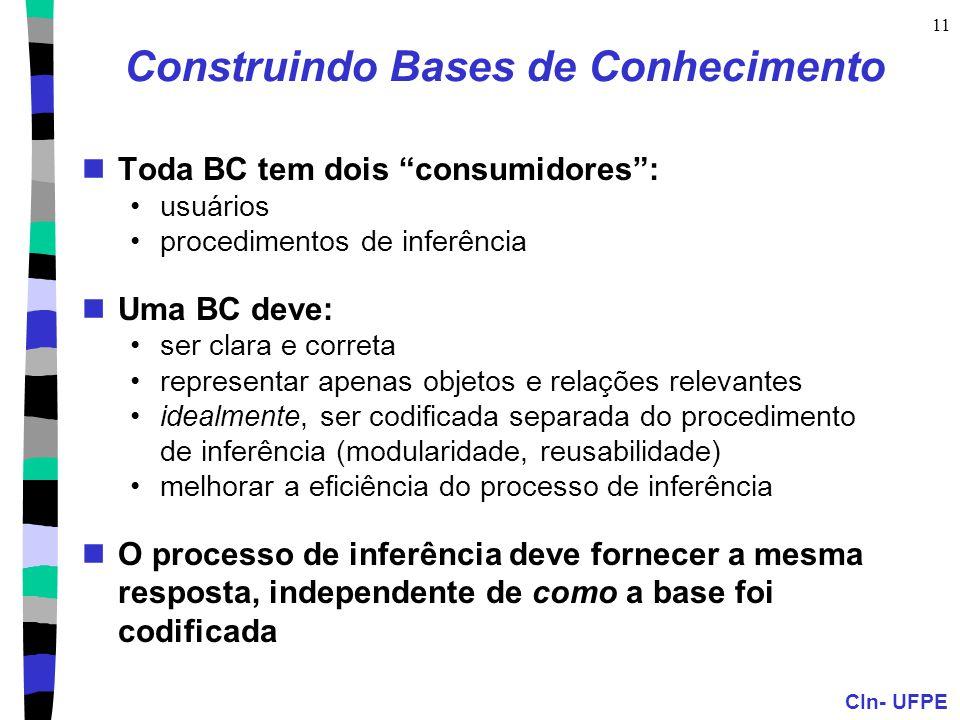 Construindo Bases de Conhecimento