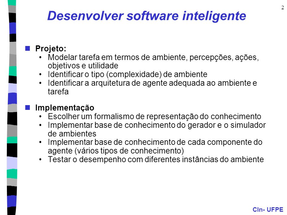 Desenvolver software inteligente