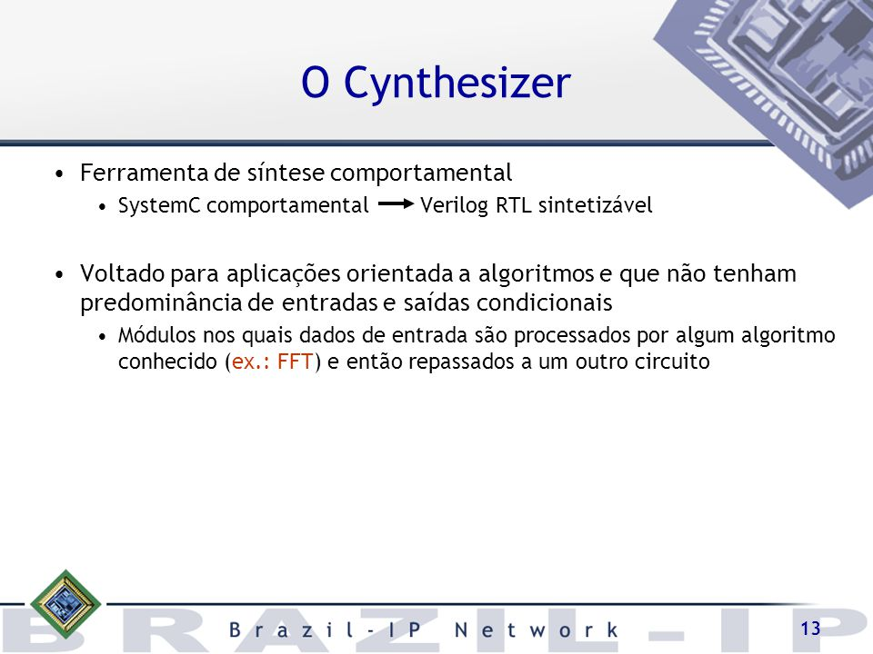 O Cynthesizer Ferramenta de síntese comportamental