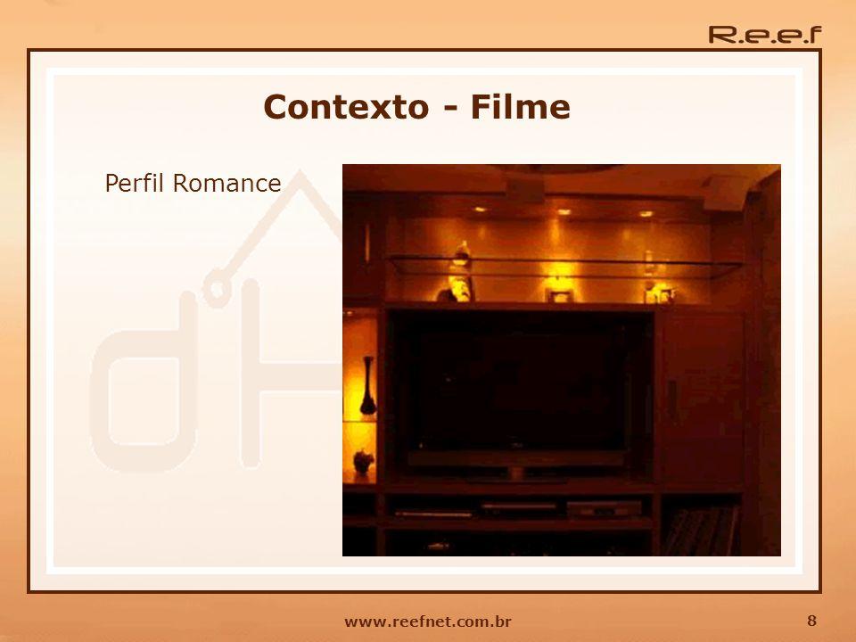Contexto - Filme Perfil Romance www.reefnet.com.br