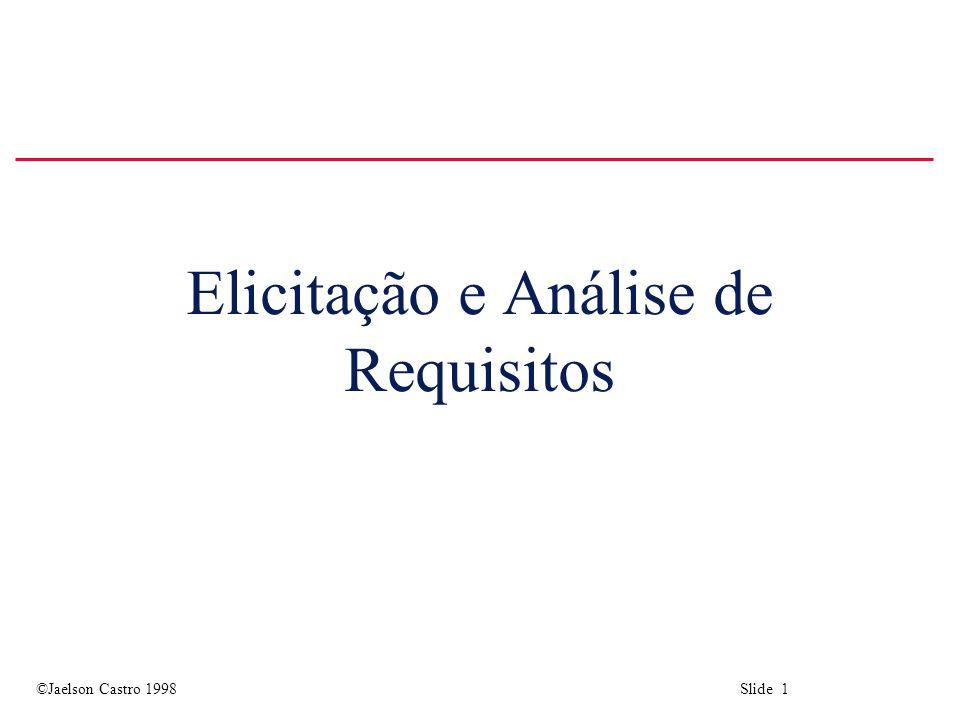 Elicitação e Análise de Requisitos