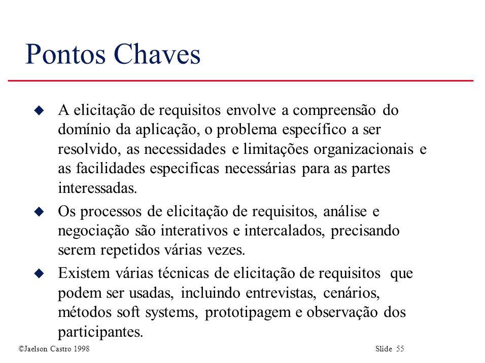 Pontos Chaves