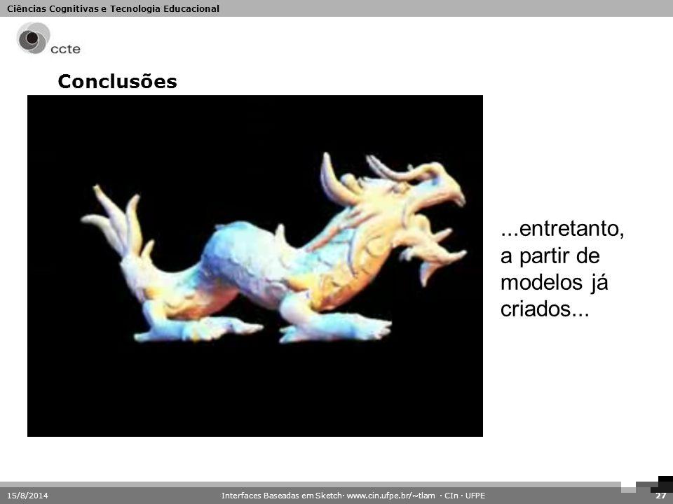 Interfaces Baseadas em Sketch· www.cin.ufpe.br/~tlam · CIn · UFPE