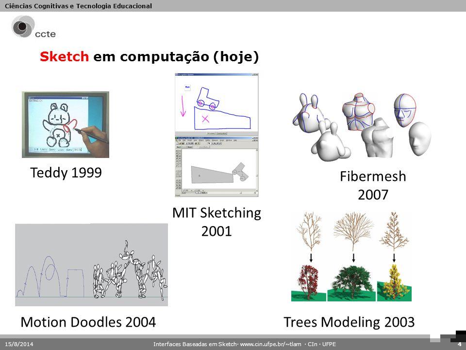 Sketch em computação (hoje)
