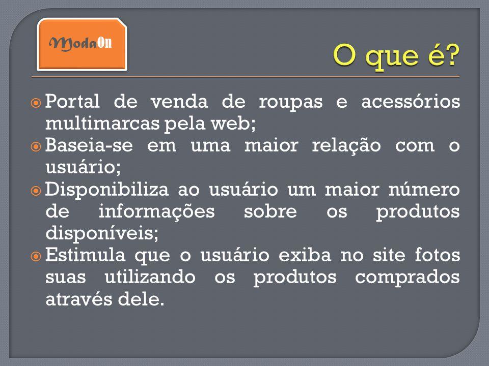 O que é Portal de venda de roupas e acessórios multimarcas pela web;
