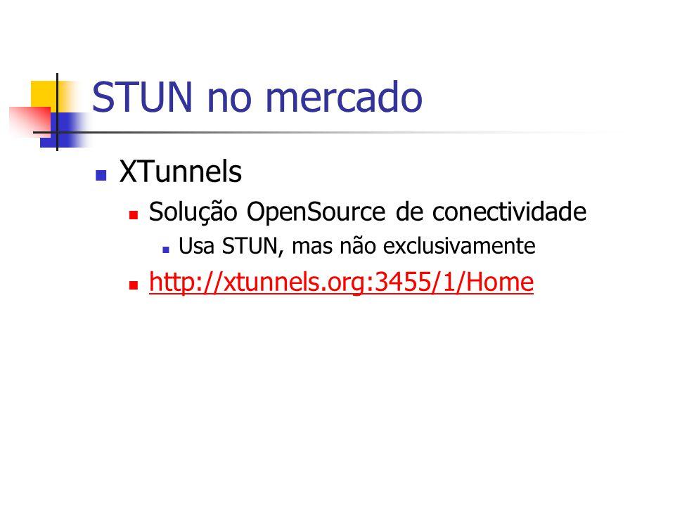STUN no mercado XTunnels Solução OpenSource de conectividade