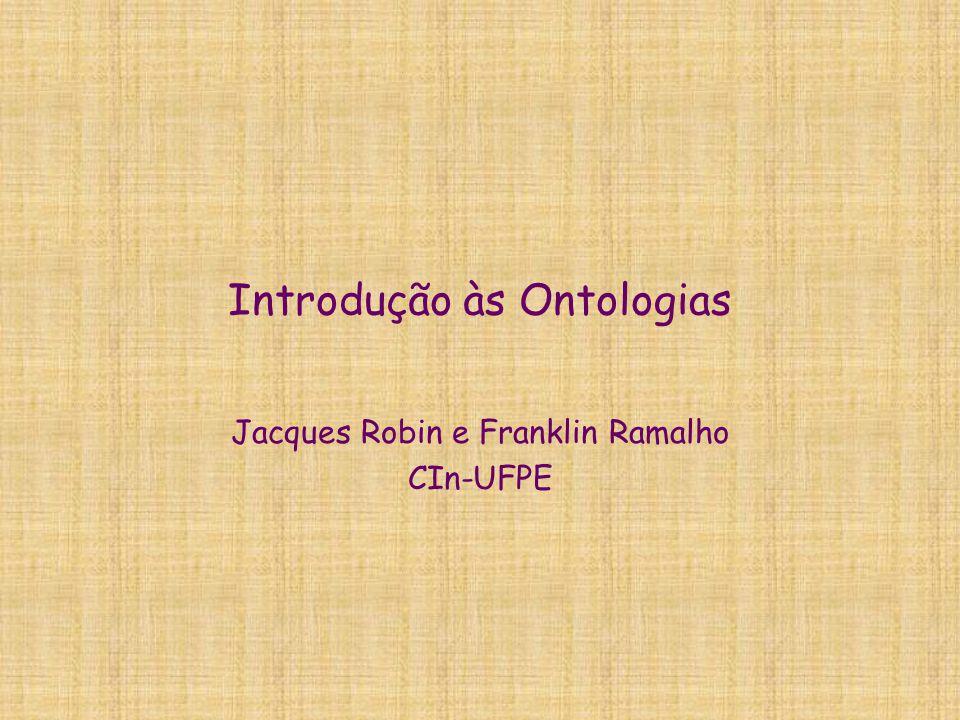 Introdução às Ontologias