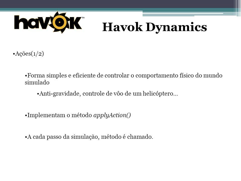 Havok Dynamics Ações(1/2)