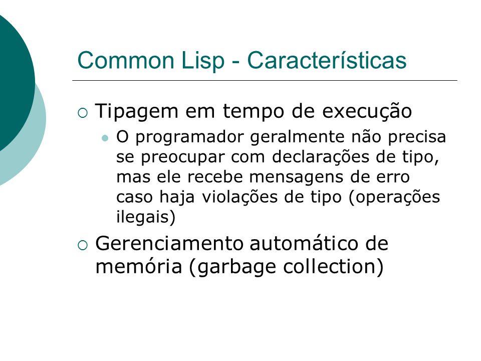 Common Lisp - Características