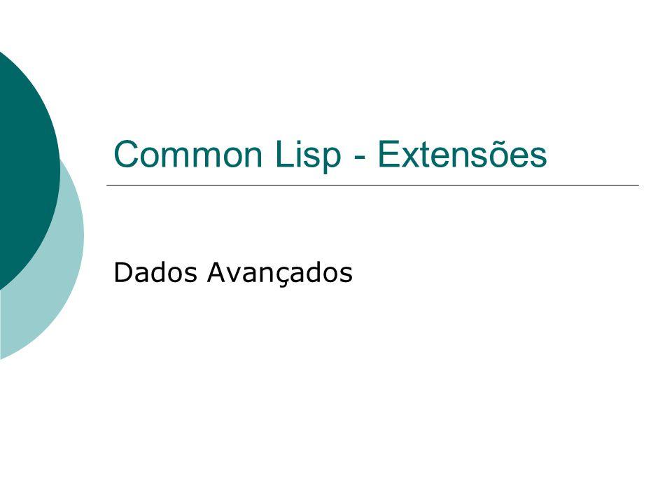 Common Lisp - Extensões