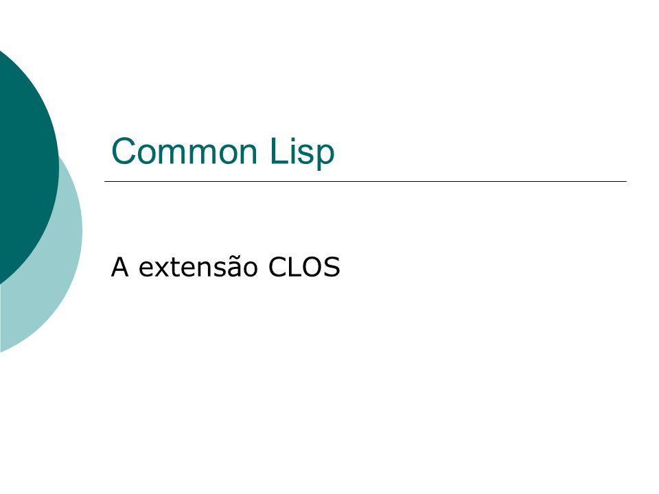 Common Lisp A extensão CLOS