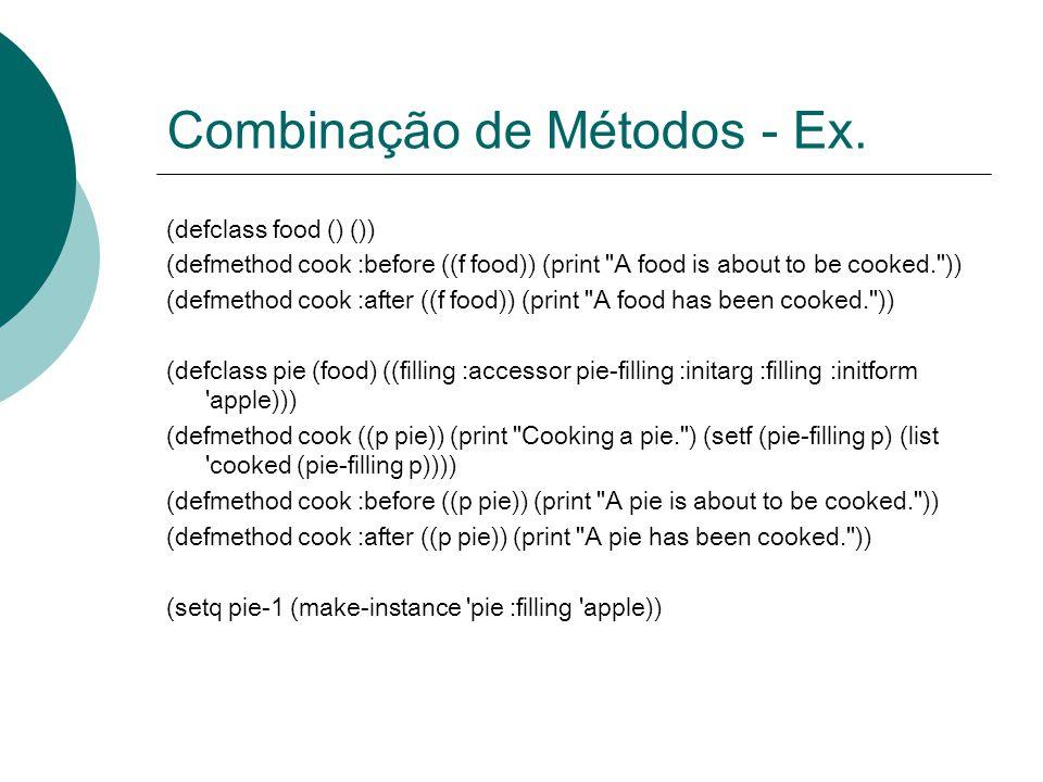 Combinação de Métodos - Ex.