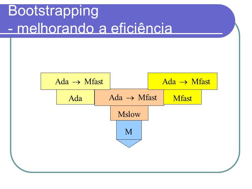 Bootstrapping - melhorando a eficiência