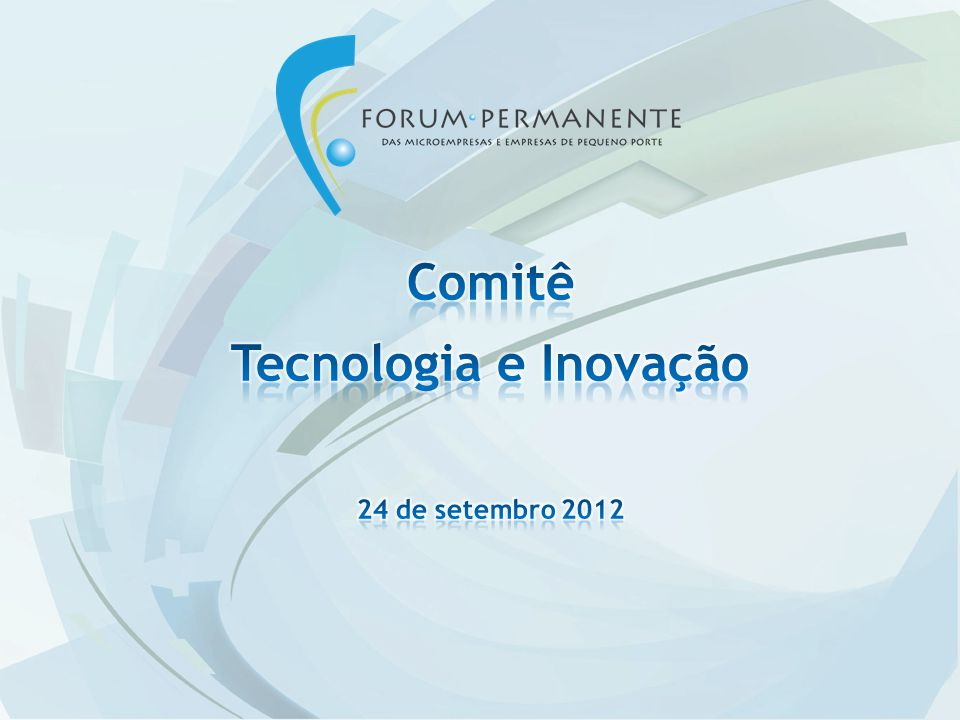 Comitê Tecnologia e Inovação