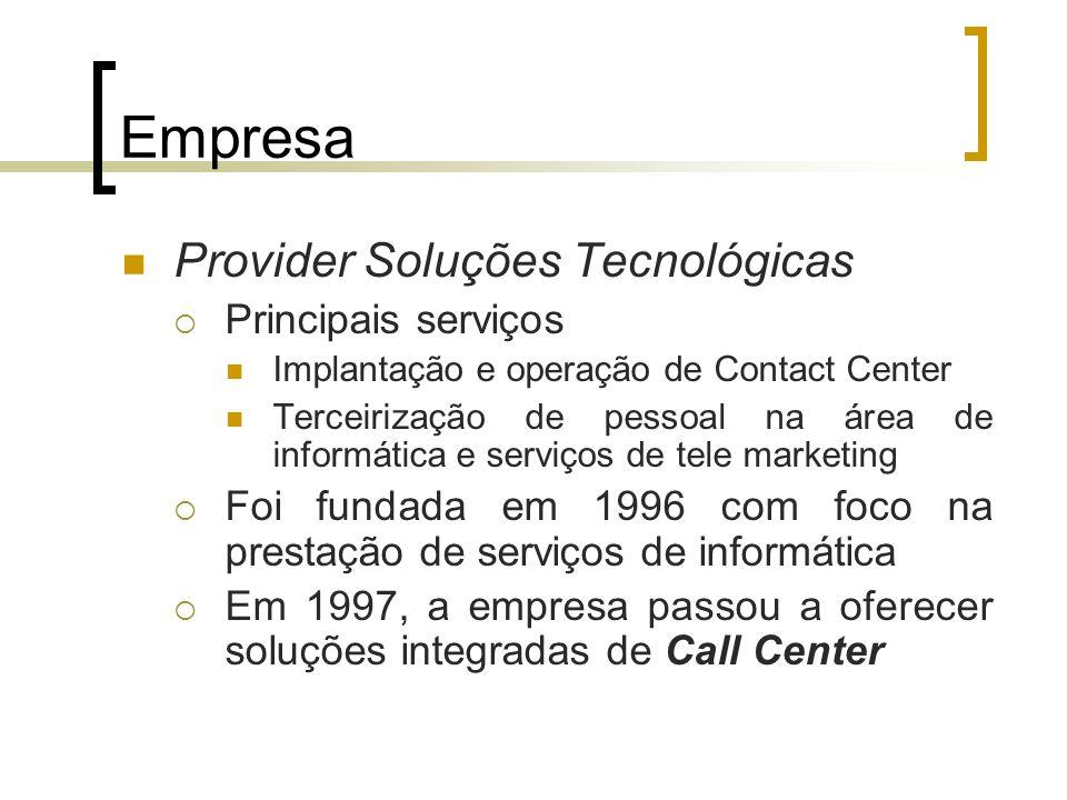 Empresa Provider Soluções Tecnológicas Principais serviços