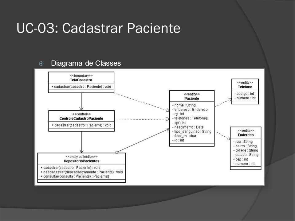 UC-03: Cadastrar Paciente