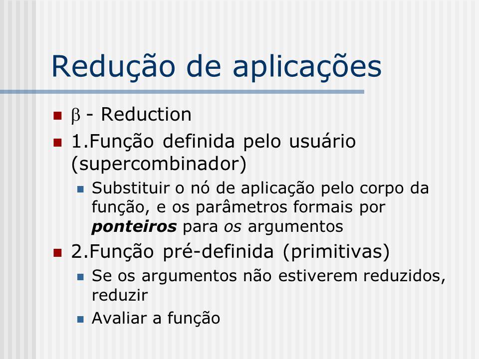 Redução de aplicações b - Reduction