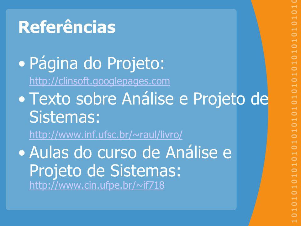 Texto sobre Análise e Projeto de Sistemas:
