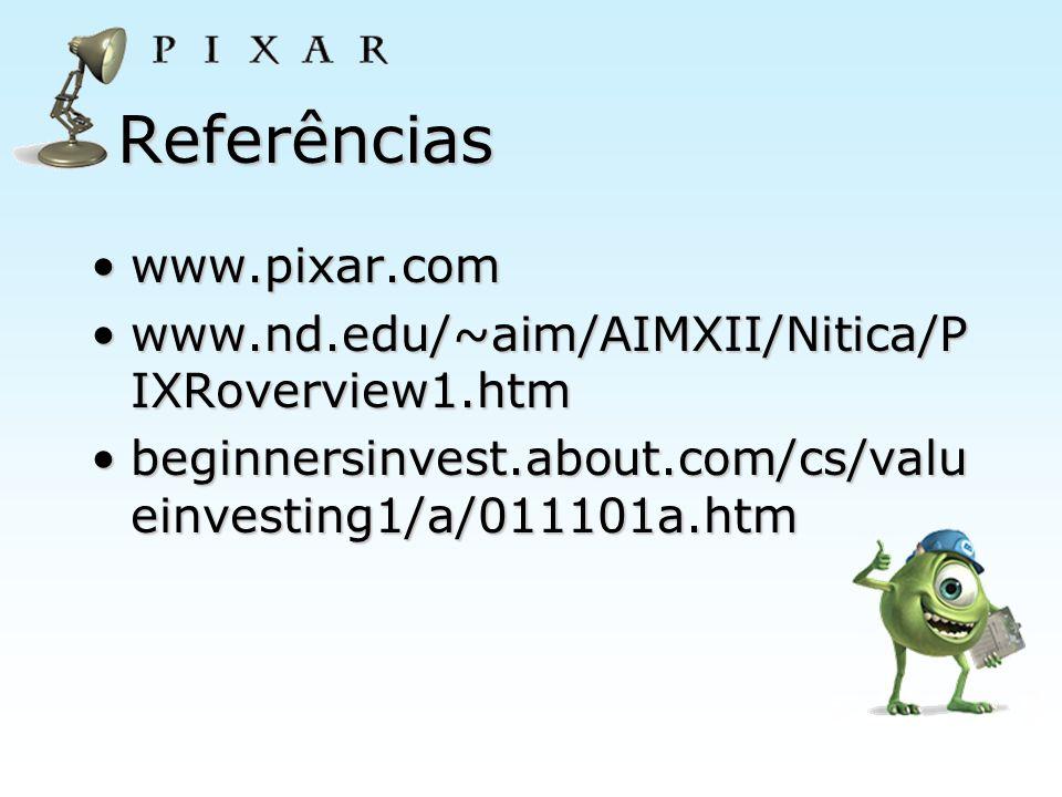Referências www.pixar.com