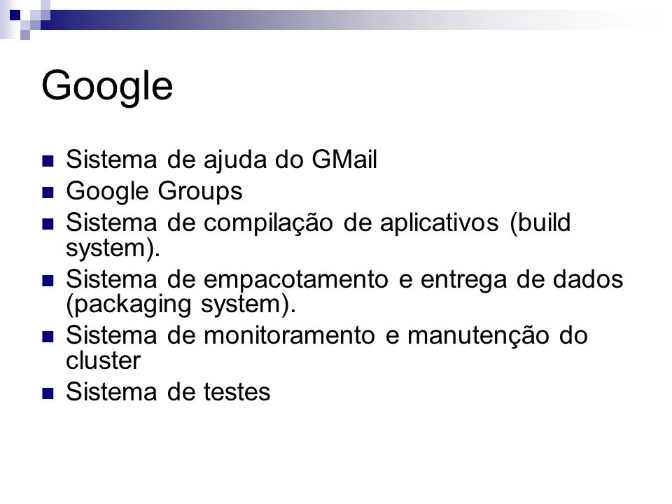 Google Sistema de ajuda do GMail Google Groups
