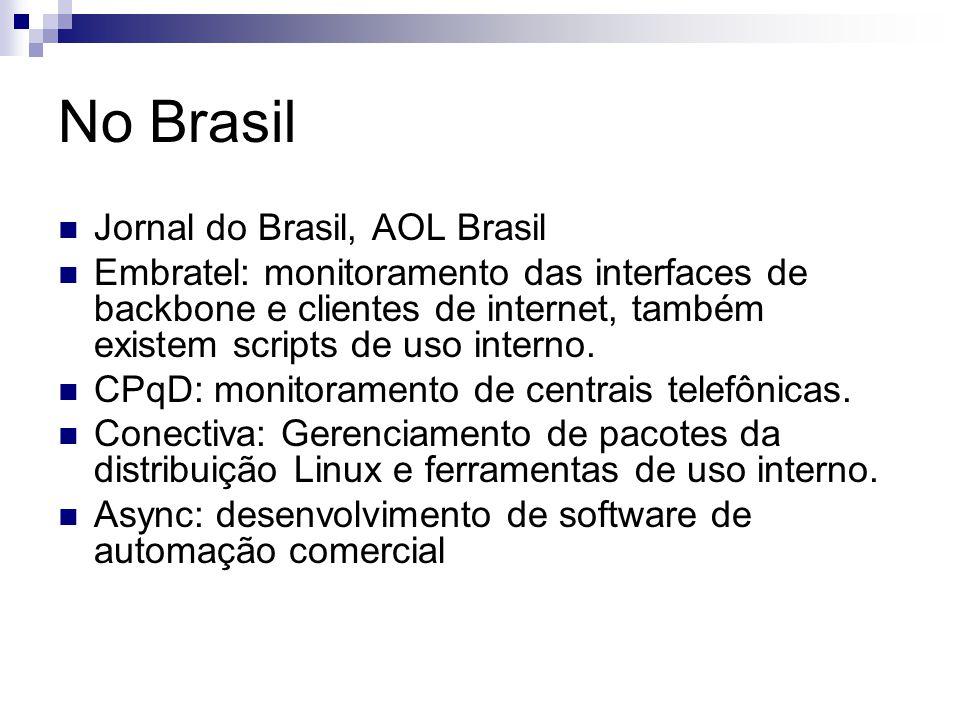 No Brasil Jornal do Brasil, AOL Brasil