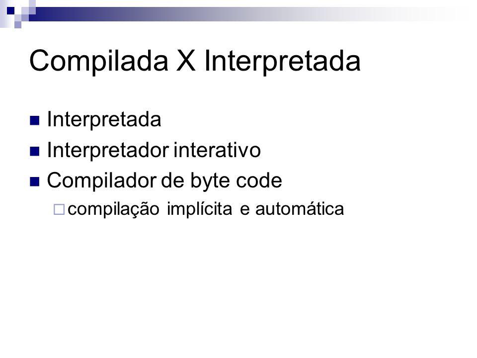 Compilada X Interpretada
