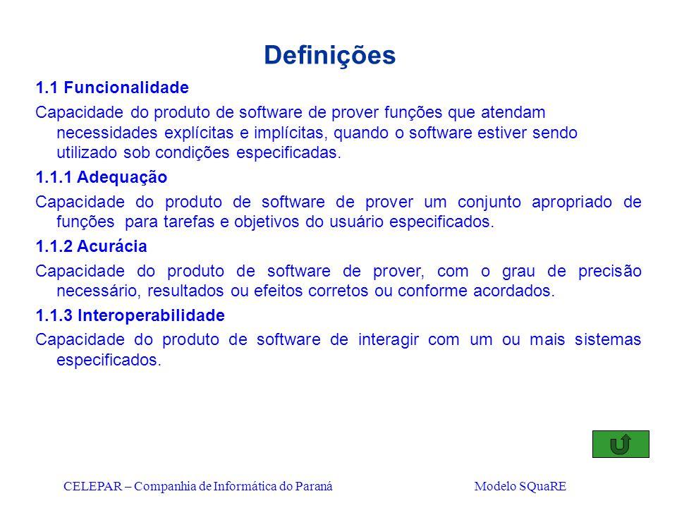 Definições 1.1 Funcionalidade