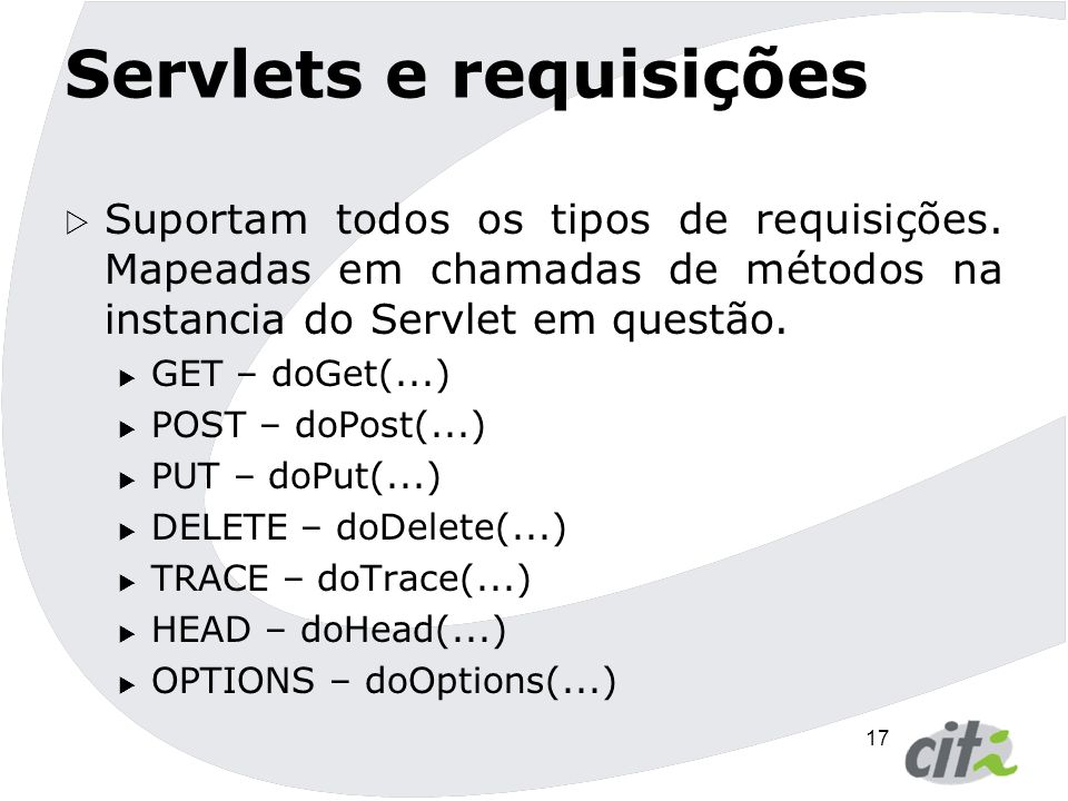 Servlets e requisições