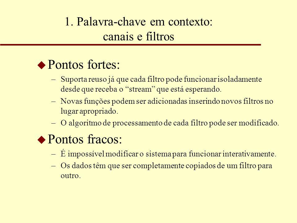 1. Palavra-chave em contexto: canais e filtros