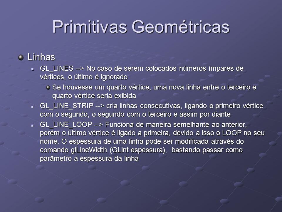 Primitivas Geométricas