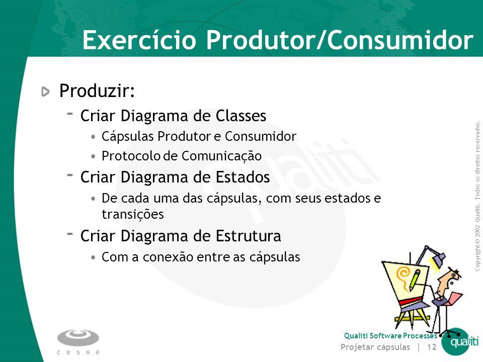 Exercício Produtor/Consumidor