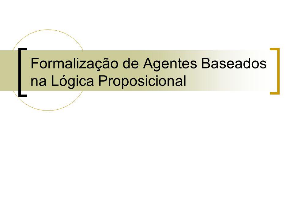 Formalização de Agentes Baseados na Lógica Proposicional