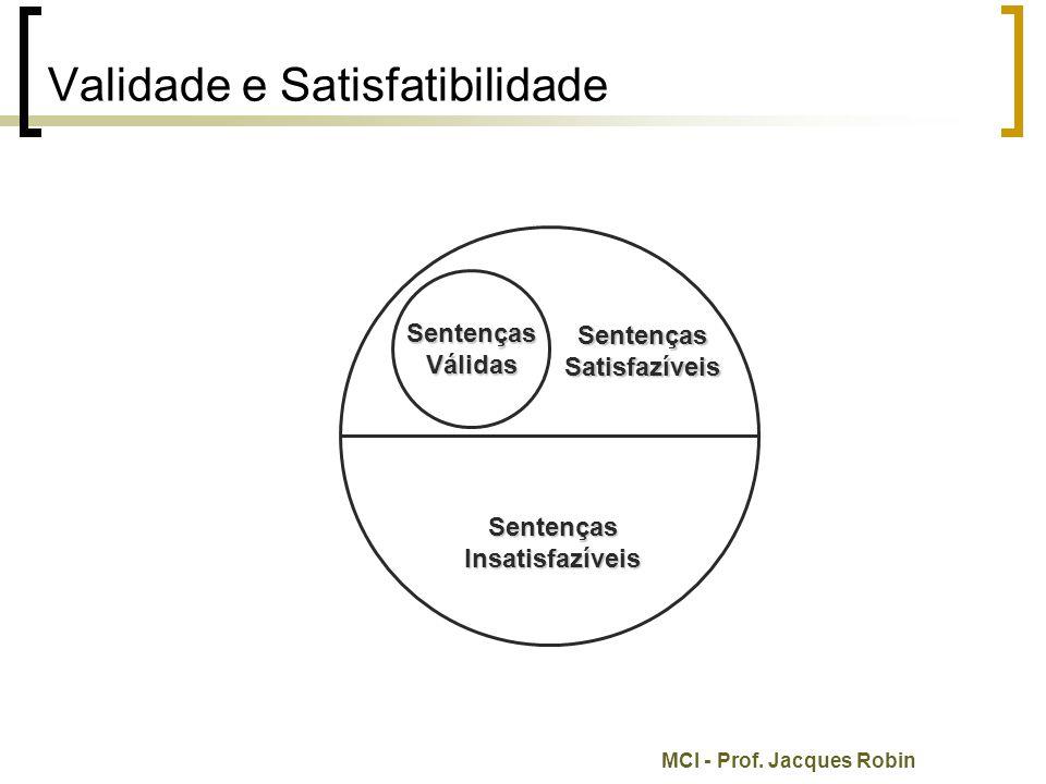 Validade e Satisfatibilidade