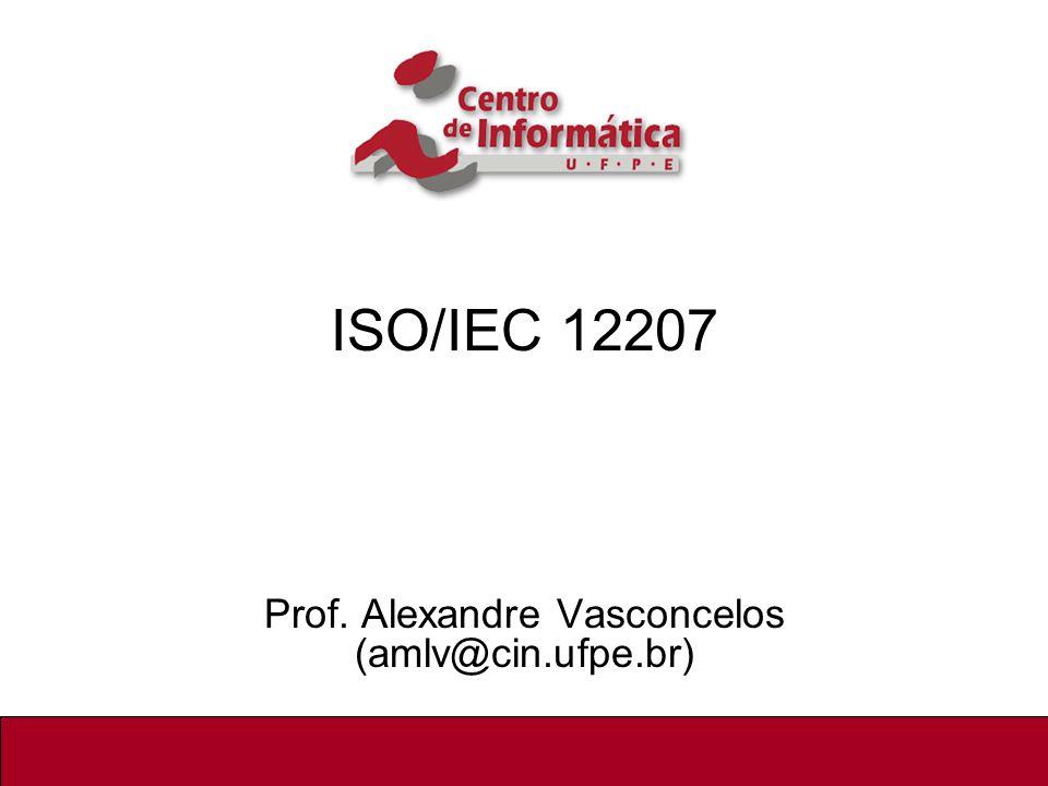 Prof. Alexandre Vasconcelos (amlv@cin.ufpe.br)