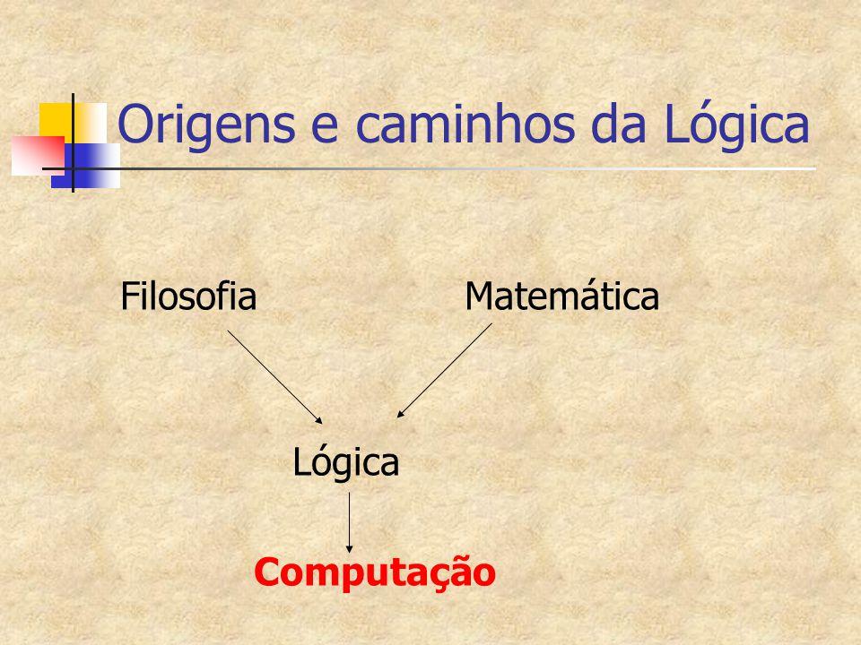 Origens e caminhos da Lógica