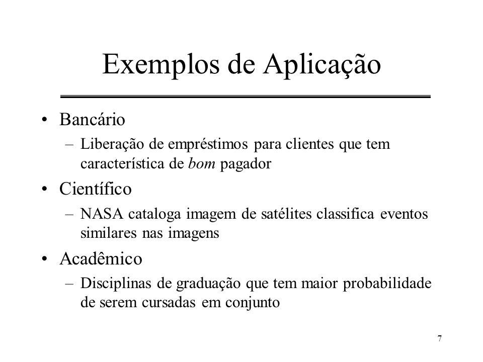 Exemplos de Aplicação Bancário Científico Acadêmico