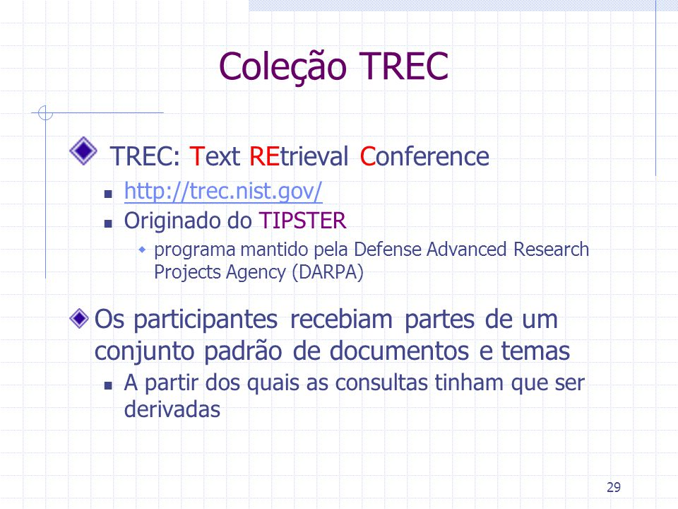 TREC: Text REtrieval Conference