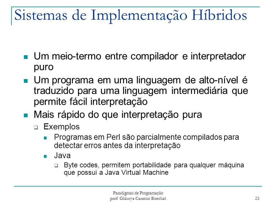 Sistemas de Implementação Híbridos