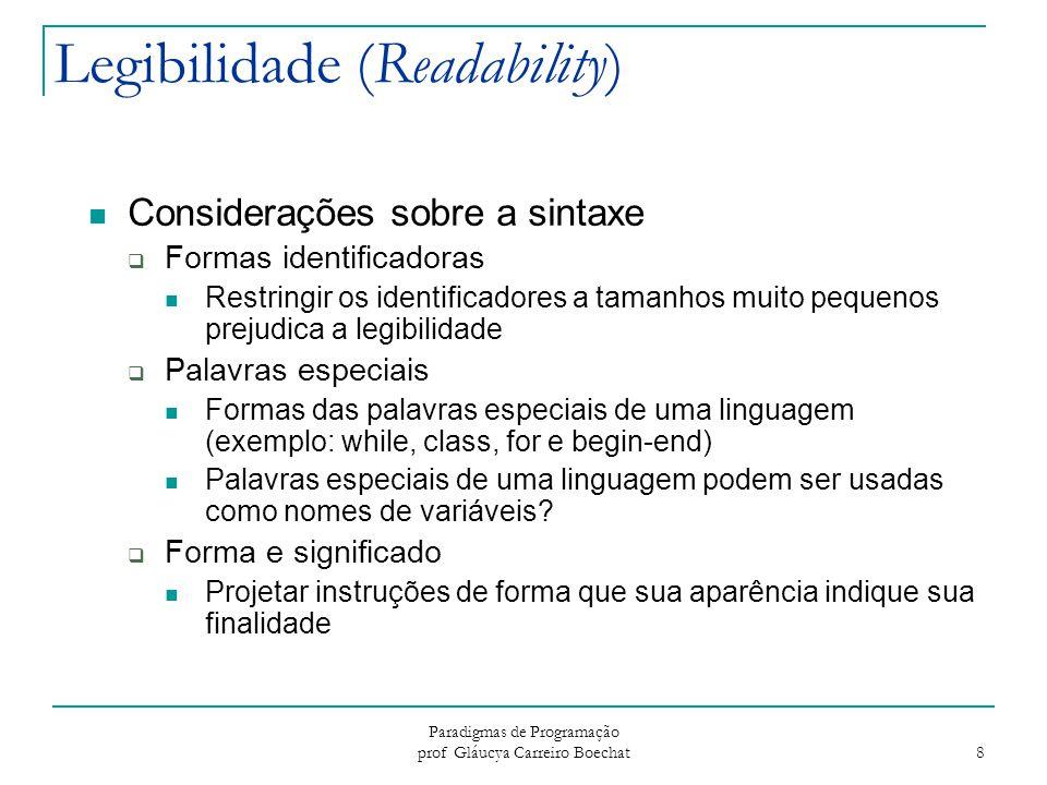 Legibilidade (Readability)