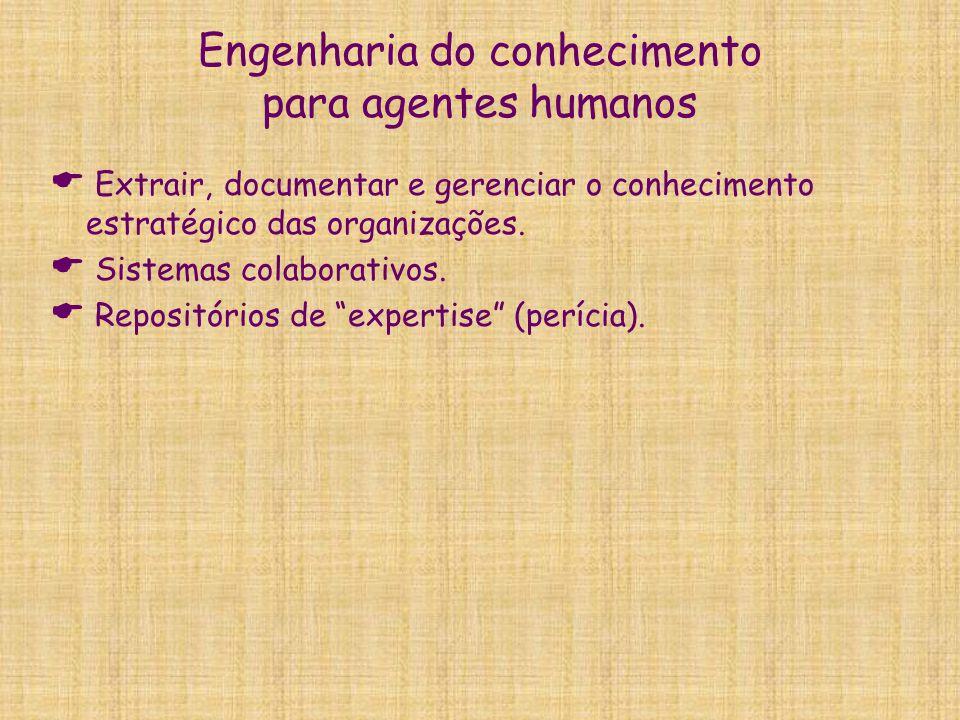 Engenharia do conhecimento para agentes humanos