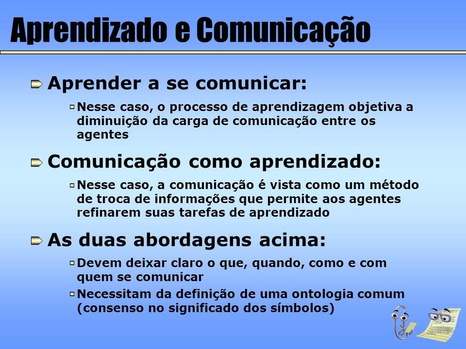 Aprendizado e Comunicação