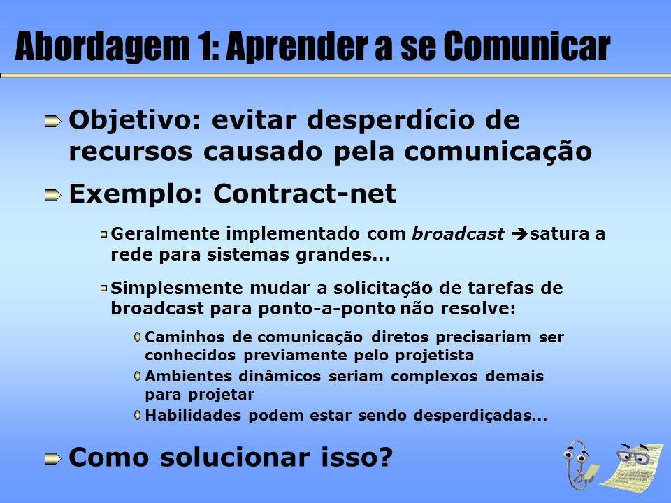 Abordagem 1: Aprender a se Comunicar
