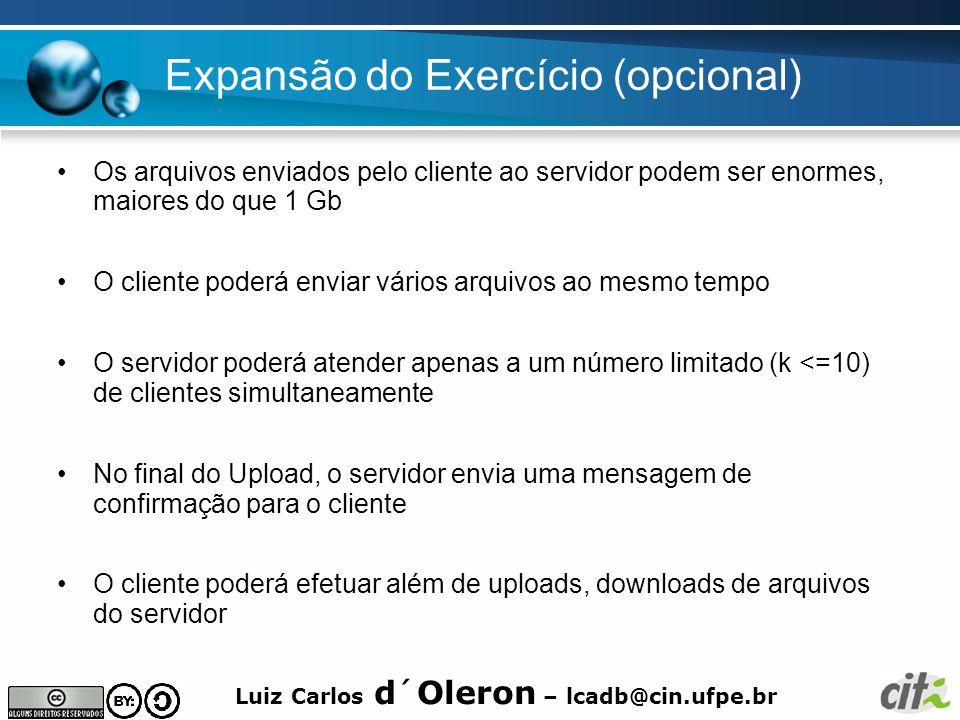 Expansão do Exercício (opcional)